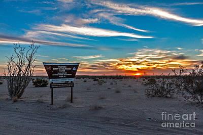 Photograph - Barry Goldwater Range by Robert Bales