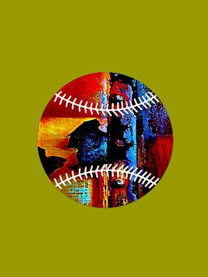 Baseball Art Mixed Media - Baseball Collection by Marvin Blaine
