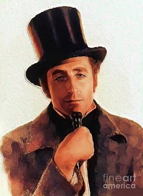 Spot Of Tea Royalty Free Images - Basil Rathbone, Vintage Actor Royalty-Free Image by Esoterica Art Agency