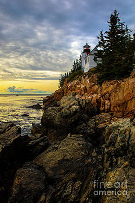 Photograph - Bass Harbor Lighthouse by Diane Diederich
