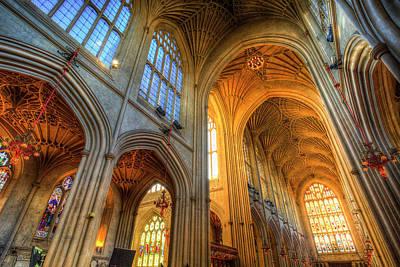 Photograph - Bath Abbey  by David Pyatt