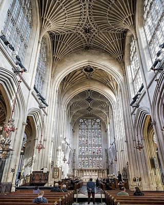 Photograph - Bath Abbey  by Jim Bosch
