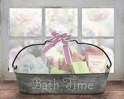 Photograph - Bath Time by Lori Deiter