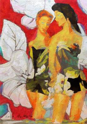 Painting - Bathing Beauties No. 4 by Lelia DeMello