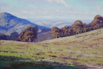 Realism Wall Art - Painting - Bathurst Landscape by Graham Gercken