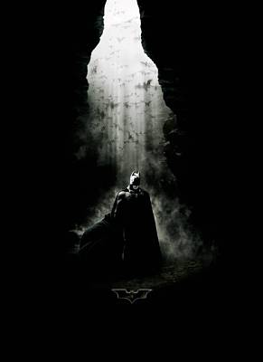 Batman Digital Art - Batman Begins 2005 by Unknown