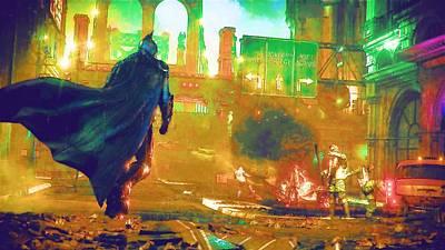 Batman Digital Art - Batman Vs Superman by Egor Vysockiy