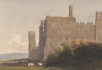 Battle Abbey, Sussex Art Print by David Cox