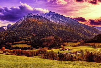 Photograph - Bavarian Mountain Scene by Pixabay