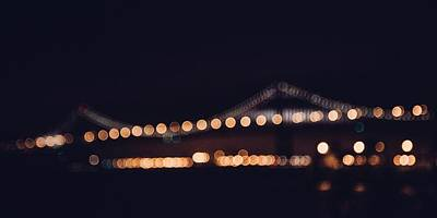 Photograph - Bay Bridge by Michael Muchnij