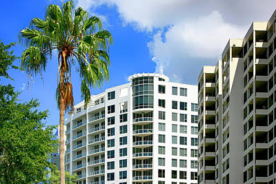 Photograph - Bay Plaza Condos Sarasota Fl by Chris Smith