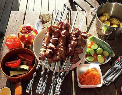 Photograph - Bbq In Summer by Tamara Sushko