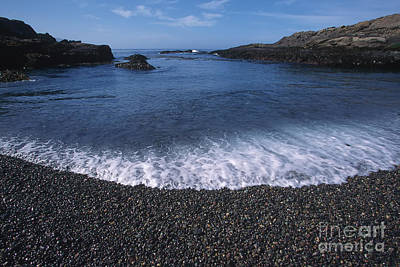Photograph - Beach At Point Lobos by Stan and Anne Foster