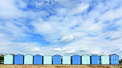 Photograph - Beach Huts by Colin Rayner