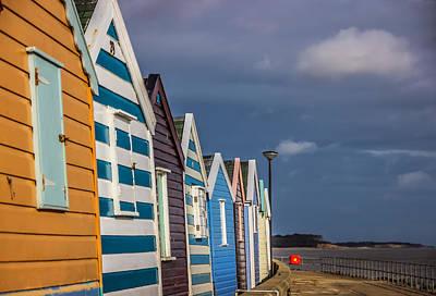 Photograph - Beach Huts by David Warrington