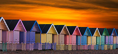 Epic Photograph - Beach Huts by Martin Newman