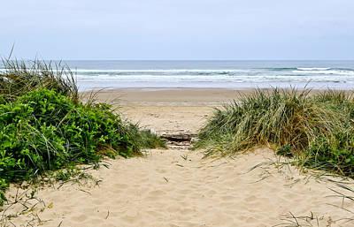 Photograph - Beach Oceanview by Athena Mckinzie