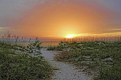 Photograph - Path To The Beach by HH Photography of Florida