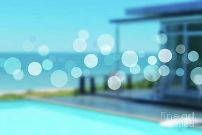 Abstract Beach Landscape Photograph - Beach Resort Concept by Atiketta Sangasaeng