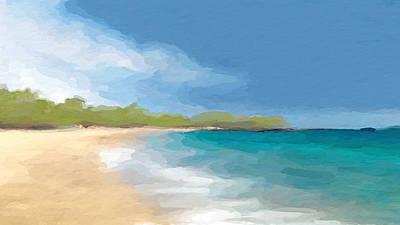 Mixed Media - Beach Retreat  by Anthony Fishburne