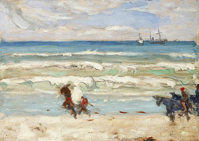 Painting - Beach Scene, Tangier by James Wilson Morrice