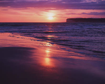 Photograph - Beach Sunset by Will Gudgeon