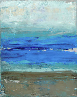 Laguna Beach Painting - Beach by Tanya Lozano Abstract Expressionism