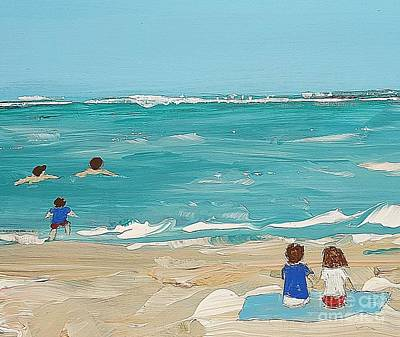 Beach9 Art Print by Diana Bursztein