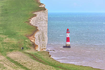 Down East Photograph - Beachy Head - England by Joana Kruse