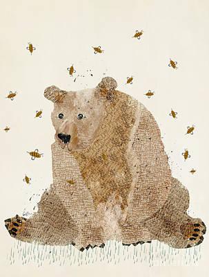 Oxley Studio Digital Art - Bear Grizzly  by Bri B