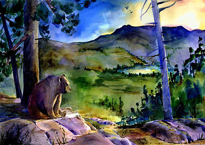 Painting - Bearly Light At Castle Peak by Joan Chlarson