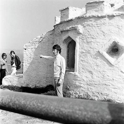 Beatles Photograph - Beatles John Lennon Magical Mystery - Square by Chris Walter