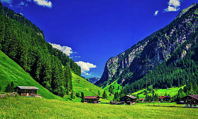 Photograph - Beautiful Austrian Alpine Valley by Pixabay