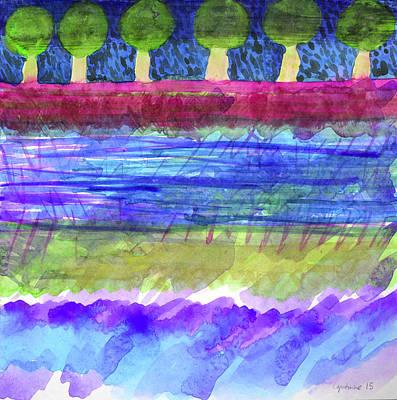 Beautiful Avenue - Digital Art Print by Heidi Capitaine