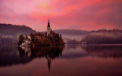 Photograph - Beautiful Bled Slovenia by Unsplash