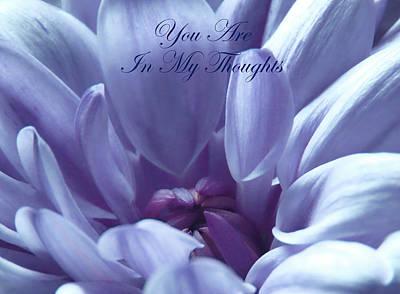 Photograph - Beautiful Blue Love by Johanna Hurmerinta