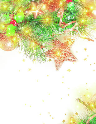 Photograph - Beautiful Christmas Decoration by Anna Om