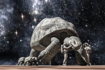 Reptiles Digital Art - Beautiful Creatures by Betsy Knapp