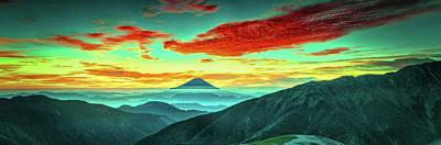 Photograph - Beautiful Mt Fuji Sunset by Kanenori