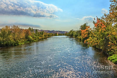 Photograph - Beautiful  Payette River by Robert Bales