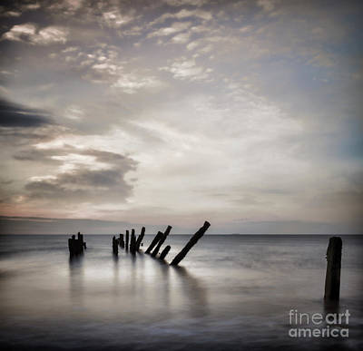 Photograph - Beautiful Seascape Yorkshire by Colin and Linda McKie