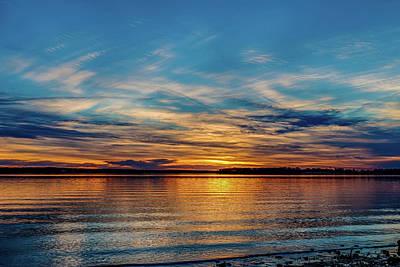 Photograph - Beautiful Sunset by Doug Long
