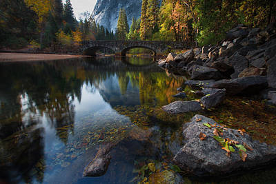 Waterfall Photograph - Beautiful Yosemite National Park by Larry Marshall