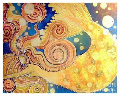 Beauty Swim Art Print by Monica Furlow