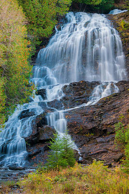 Photograph - Beaver Brook Falls by Brenda Jacobs