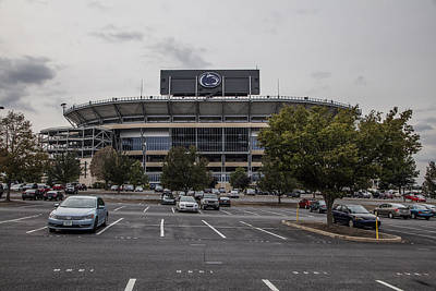 Penn State University Photograph - Beaver Stadium Penn State  by John McGraw