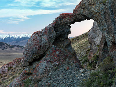 Photograph - Beaverhead Arch 4 by Leland D Howard