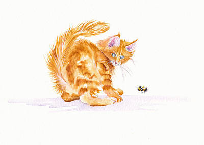 Bee Wary Original by Debra Hall