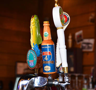 Photograph - Beers On Tap by David Lee Thompson