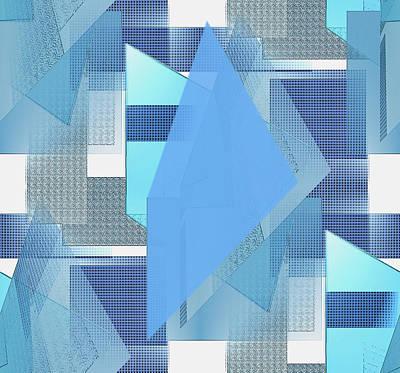 Digital Art - Beginning by Iris Gelbart